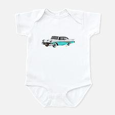 1958 Ford Fairlane 500 White & Light Blue Infant B