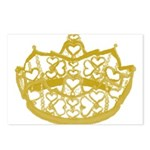Second Heart Crown by Kristie Hubler Postcards (Pa