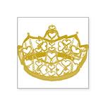 Second Heart Crown by Kristie Hubler Sticker