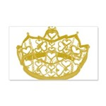 Second Heart Crown by Kristie Hubler Wall Decal