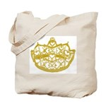 Second Heart Crown by Kristie Hubler Tote Bag