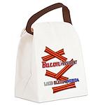 Bacon 4P Lard Bless America Canvas Lunch Bag