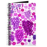 pink grapes and berries by Kristie Hubler Journal