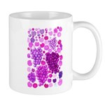 pink grapes and berries by Kristie Hubler Mug