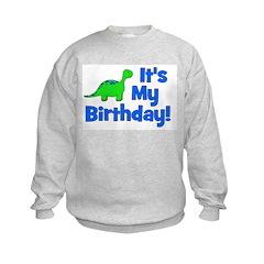 It's My Birthday! Dinosaur Sweatshirt
