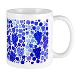 blue grapes and berries by Kristie Hubler Mug