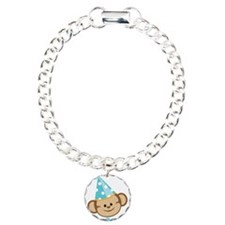 First Birthday Monkey Bracelet