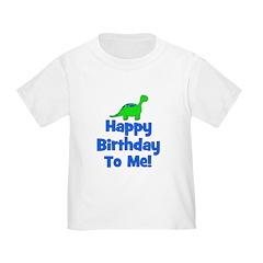 Happy Birthday To Me! Dinosau T