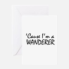 The Wanderer Greeting Cards