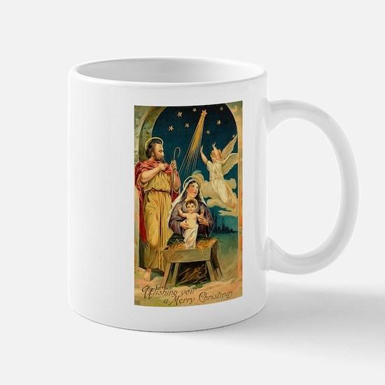Christmas Nativity Scene Mugs