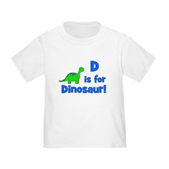 D is for Dinosaur! T