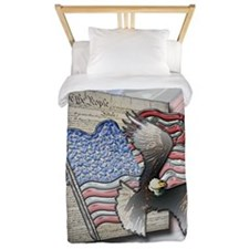 We the People Twin Duvet