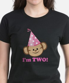 Second Birthday Monkey T-Shirt