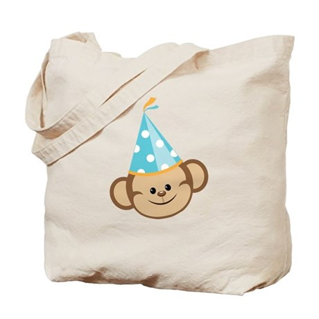 Celebration Monkey Tote Bag