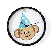 Celebration Monkey Wall Clock
