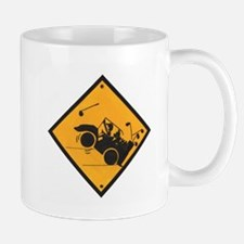 Golf Cart Wheelies Mug