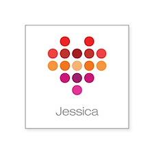 I Heart Jessica Sticker