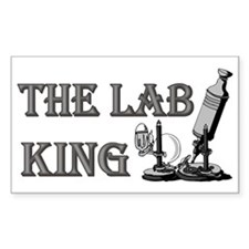 THE LAB KING Rectangle Decal