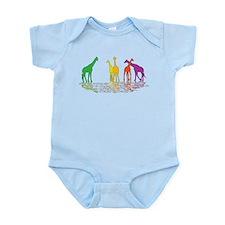 Giraffes Infant Bodysuit