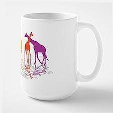 Giraffes Large Mug