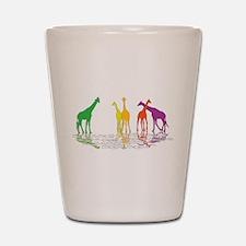 Giraffes Shot Glass