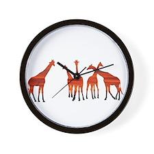 Cute Savanna Wall Clock