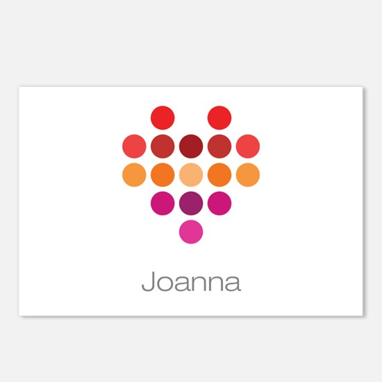 I Heart Joanna Postcards (Package of 8)