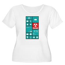 Panic Plus Size T-Shirt