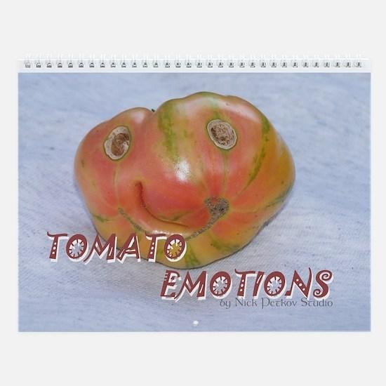 Tomato Emotions Wall Calendar