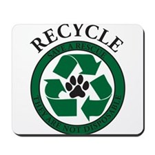 Rescue Recycle Mousepad