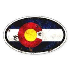 Colorado Flag Bumper Stickers