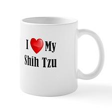 I Love My Shih Tzu Mug