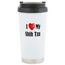 I Love My Shih Tzu Travel Mug