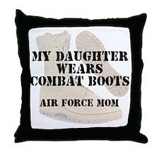 AF Mom Daughter DCB Throw Pillow