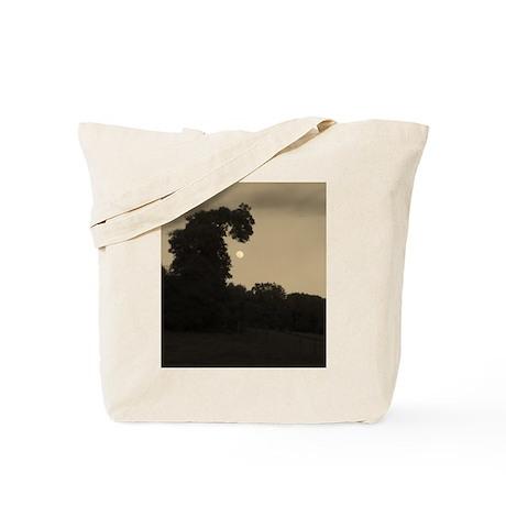 Dragon Tree and The Moon Tote Bag