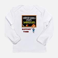 CHARTER SCHOOLS Long Sleeve T-Shirt