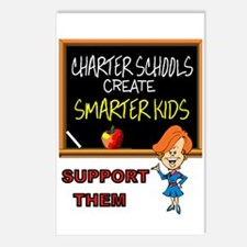 CHARTER SCHOOLS Postcards (Package of 8)
