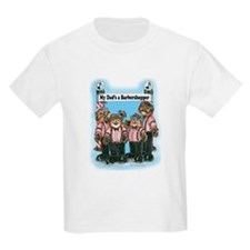 Dad's a Barbershopper Kids T-Shirt
