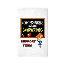 CHARTER SCHOOLS 3'x5' Area Rug