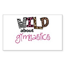 Wild about Gymnastics Decal
