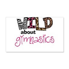 Wild about Gymnastics Wall Decal