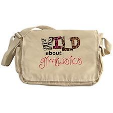 Wild about Gymnastics Messenger Bag