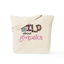 Wild about Gymnastics Tote Bag