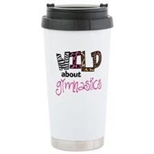 Wild about Gymnastics Travel Mug