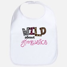 Wild about Gymnastics Bib