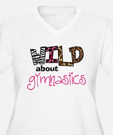 Wild about Gymnastics Plus Size T-Shirt