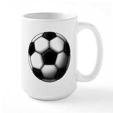 soccer ball 2 Mug