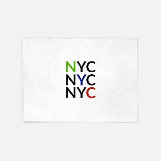 NYC 5'x7'Area Rug