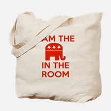 I Am the Elephant in the Room Tote Bag