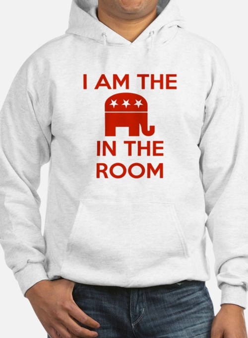 I Am the Elephant in the Room Hoodie